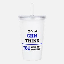 It's a CHN thing, you Acrylic Double-wall Tumbler