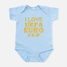 I Love Uefa Euro Cup Infant Bodysuit