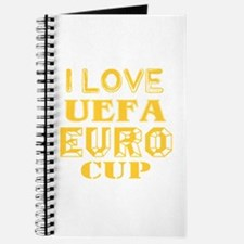 I Love Uefa Euro Cup Journal
