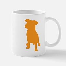 French bulldog silhouette Mugs