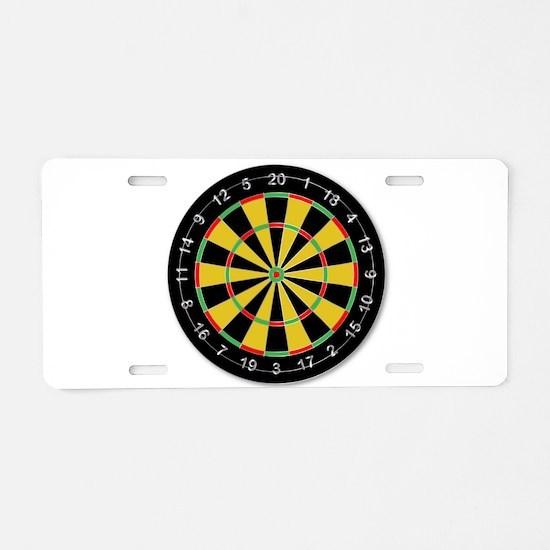 Dartsboard Aluminum License Plate