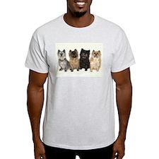 Four Cairn Terriers T-Shirt