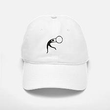 Sport gymnastics rhythmic silhouette Baseball Baseball Cap
