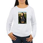 Mona's Black Shar Pei Women's Long Sleeve T-Shirt