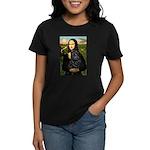 Mona's Black Shar Pei Women's Dark T-Shirt