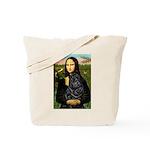 Mona's Black Shar Pei Tote Bag