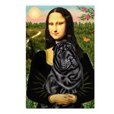 Mona's Black Shar Pei Postcards (Package of 8)