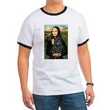 Mona's Black Shar Pei T
