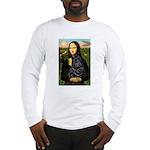 Mona's Black Shar Pei Long Sleeve T-Shirt