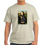Mona's Black Shar Pei Light T-Shirt