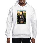 Mona's Black Shar Pei Hooded Sweatshirt
