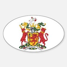 Somerset County Council Oval Decal