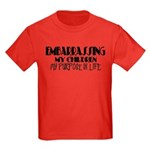 Embarrassing My Children Kids Dark T-Shirt