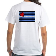 BRICK LEATHER PRIDE FLAG Shirt