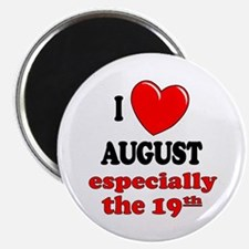 "August 19th 2.25"" Magnet (10 pack)"