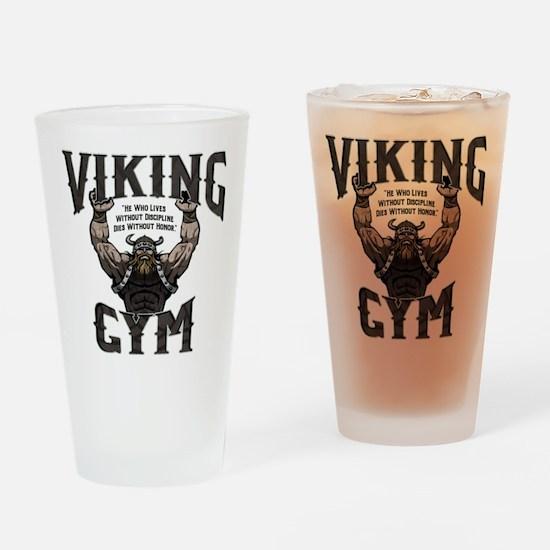 Viking Gym Drinking Glass