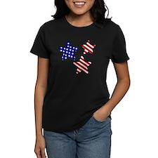 American Flag Stars Tee