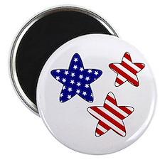 American Flag Stars Magnet