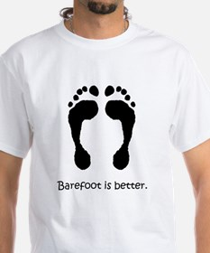 Barefoot - Barefoot is Better T-Shirt