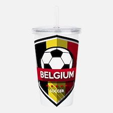 Creative soccer Belgiu Acrylic Double-wall Tumbler