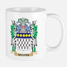 Weston Coat of Arms - Family Crest Mugs