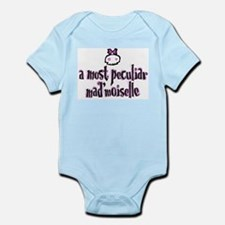 """Peculiar Mad'moiselle"" Infant Bodysuit"