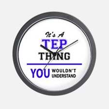 It's TEP thing, you wouldn't understand Wall Clock