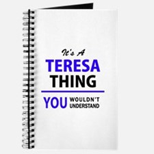 It's TERESA thing, you wouldn't understand Journal