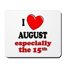 August 15th Mousepad
