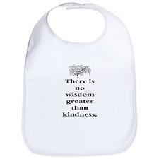 WISDOM GREATER THAN KINDNESS (TREE) Bib