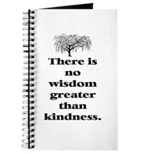 WISDOM GREATER THAN KINDNESS (TREE) Journal