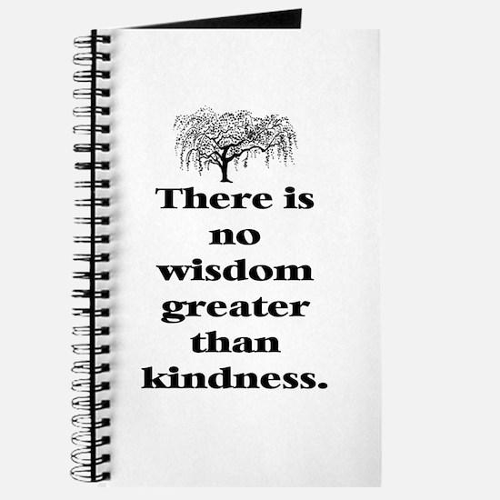 WISDOM GREATER THAN KINDNESS (TREE) Journal
