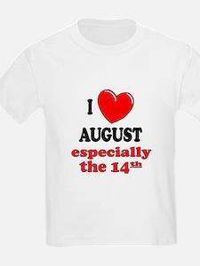 August 14th T-Shirt