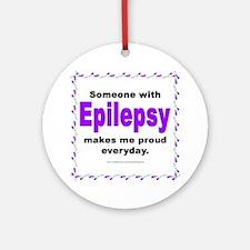 Epilepsy Pride Ornament (Round)