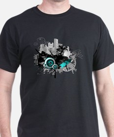 modern music background T-Shirt