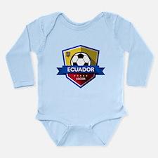 Creative soccer Ecuador label Body Suit