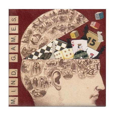 """""""Mind Games"""" Tile Coaster"""