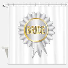 Bride Rosette Shower Curtain