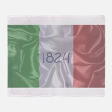 Alamo Silk Flag Throw Blanket