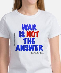 """War No Answer"" Women's T-Shirt"