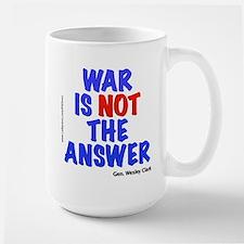 """War No Answer"" Mug"