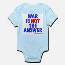 """War No Answer"" Infant Bodysuit"