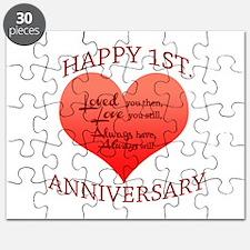 1st. Anniversary Puzzle