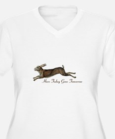 Hare Today Plus Size T-Shirt