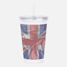 Silk Union Jack Acrylic Double-wall Tumbler