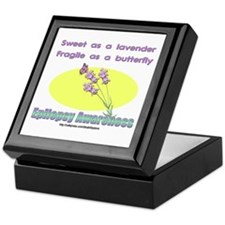 Epilepsy Awareness Keepsake Box