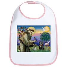 St Francis / Pug Bib