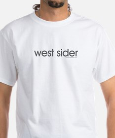 west sider Ash Grey T-Shirt