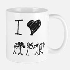 I Heart Zombie Movies Mugs