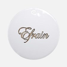 Cute Efrain Round Ornament